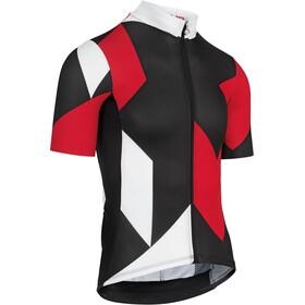 assos Fast Lane Rock Maillot Manches courtes Homme, national red